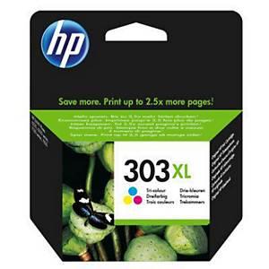 HP 303XL (T6N03AE) inkt cartridge, cyaan/magenta/geel