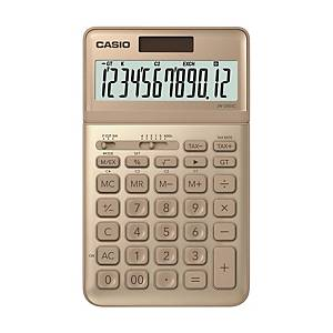 CASIO JW-200SC Desktop Calculator 12 Digits Gold