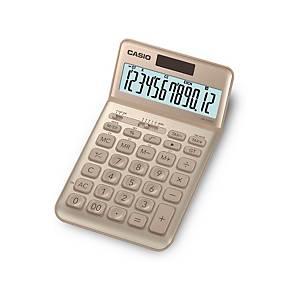Stolová kalkulačka Casio JW-200SC, 12-miestny displej, zlatá