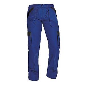 Dámské pracovní kalhoty CERVA MAX LADY, velikost 46, modré