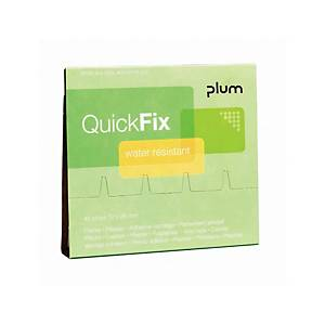 Plum QuickFix 5511 wasserfeste Pflaster, 6 x 45 Stück