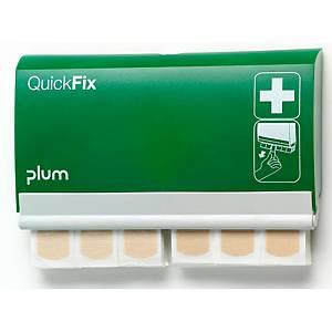 Distributeur de pansements QuickFix, 2x45 pansements élastiques, vert/blanc