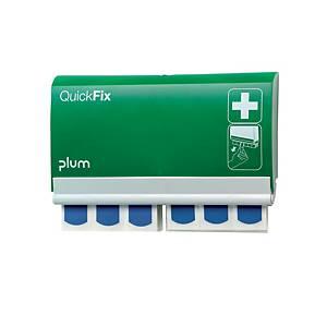 plum QuickFix 5503 Pflasterspender mit detektierbaren Pflastern 2 x 45 Stück