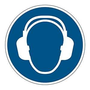 DURABLE FLOOR STICKER USE EAR PROTECTION