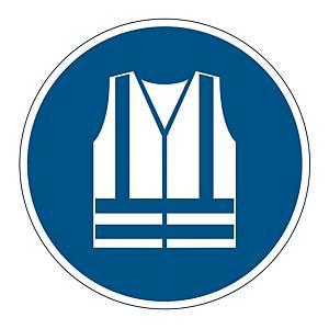 DURABLE FLOOR STICKER USE SAFETY VEST