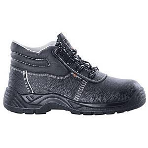 Bezpečnostná členková obuv Ardon® Firsty, S1P SRA, veľkosť 38, sivá