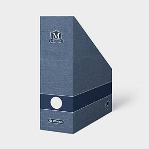 Stojan na časopisy Montana A4, barva modrá