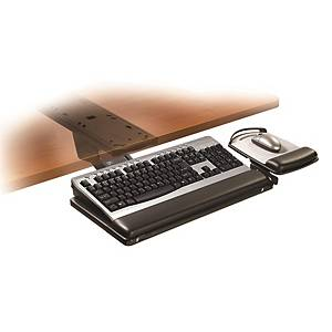 3M AKT180LE Sit/Stand Easy Adjust Keyboard Tray