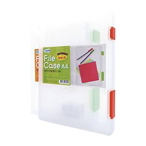 KAPAMAX 75100 FILE CASE A4 TRANSPARENT