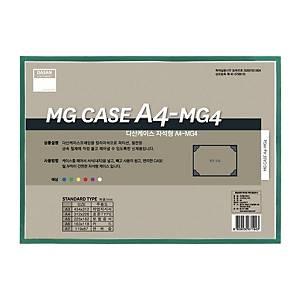 다산 MG4 자석형 케이스 A4 녹색
