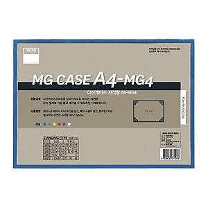 DASAN MAGNETIC PP CASE A4 BLUE