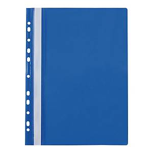 BIURFOL PUNCHED FILE PP A4 BLUE