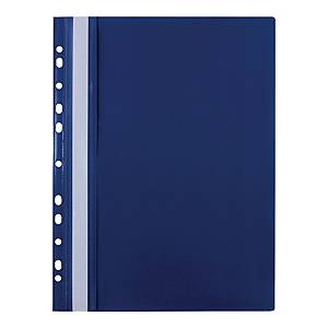 BIURFOL PUNCHED FILE PP A4 NAVY