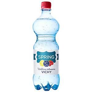 Spring Vichy+C maustettu kivennäisvesi vadelma-sitruuna 0,33L, 1 kpl=12 pulloa
