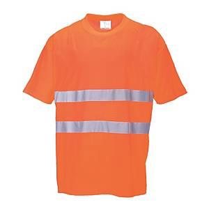 T-shirt alta visibilità Portwest S172 arancione tg L