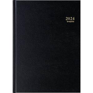 Brepols Bremax 2 desk diary with Santex cover black