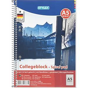 Altryal Notizbuch, A5, kariert, 160 Seiten