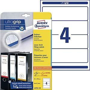 BX120 AVERY L4761 SPINE LABELS 192X61