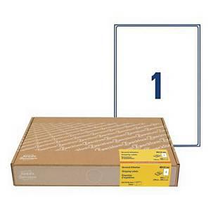 Etykiety wysyłkowe na kartony Avery Zweckform,300 ark./op. białe, 199,6x289,1mm*