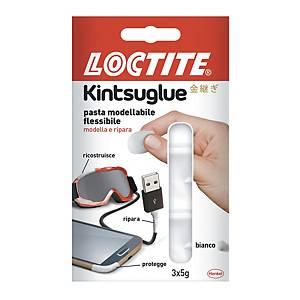 Pasta modellabile Loctite Kintsuglue bianco - conf. 3 panetti da 5g
