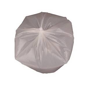 배접 쓰레기봉투 대 75L (76X94) 흰색 20장