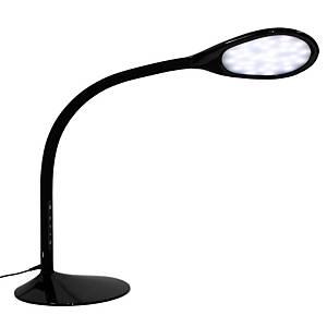 Prolite Zynk LED-pöytävalasin musta