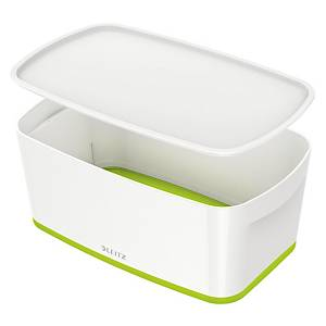 Leitz Mybox Small 5 Litre With Lid, Storage Box - Green