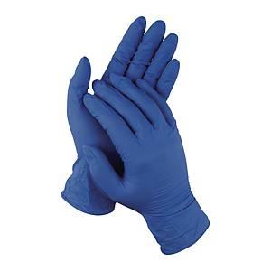 PK50 E&W NITRILE GLOVE M BLUE