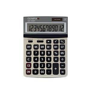 OLYMPIA เครื่องคิดเลขชนิดตั้งโต๊ะGX-120ST 12 หลัก