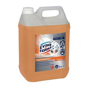 Detergente multiuso disinfettante Lysoform Pro Formula original 5 L