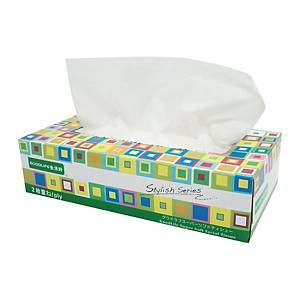 Goodlife Supreme Facial Box Tissue - Box of 100 Sheets