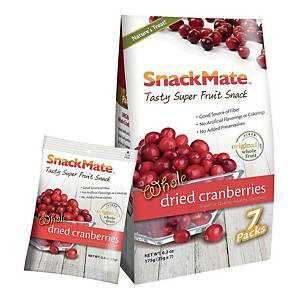 Snackmate 新仕美 原粒紅莓乾 25克 - 7小包裝