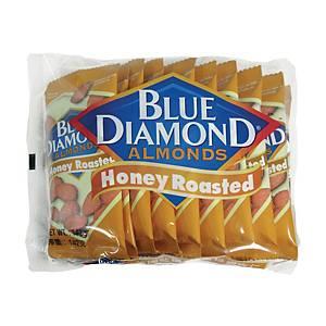 Blue Diamond 藍鑽石 蜜糖焗杏仁14.2克 - 10包裝