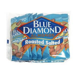 Blue Diamond 藍鑽石 鹽焗杏仁14.2克 - 10包裝