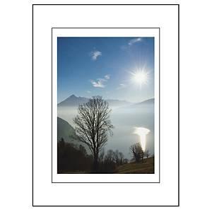 Carte double Art Bula, 130x180 mm, blanco