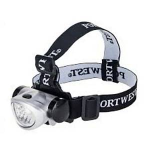 Portwest Pa50 Frontal Torch 8 Leds