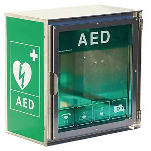 CARDIAID CASHH100 AED OUTDOOR CABINET SW
