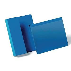Tasca con aletta pieghevole Durable blu