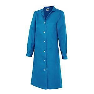 Bata de manga larga para mujer Velilla 908 - azul - talla 46