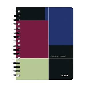 Leitz Executive zápisník linkovaný, plast, A5