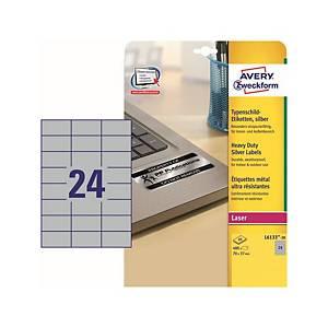 Avery L6133 ellenálló etikettek, 70 x 37 mm