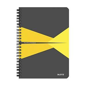 Leitz Office zápisník linkovaný A5, žlutý