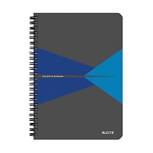 Leitz Office zápisník linkovaný A5, modrý