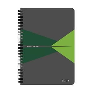 Leitz Office zápisník linkovaný A5, zelený
