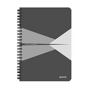Leitz Office zápisník linkovaný A5, šedý