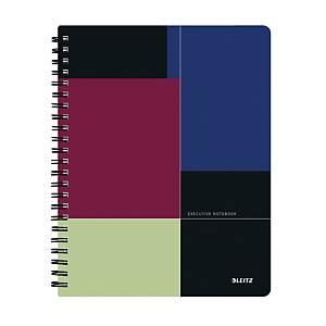 Leitz Executive projektový linkovaný zápisník, plast, A4