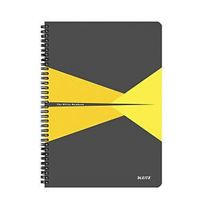 Leitz Office linkovaný zápisník A4, plast, žlutý