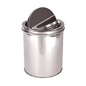 STAINLESS SWING WASTE BIN 10L (22.5 X 25)