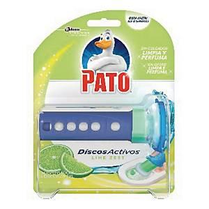 Dispensador + recarga de gel ativo Pato - aroma lima