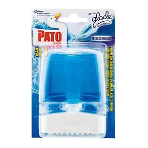 Dispensador + recambio Pato Gel Activo - aroma marino